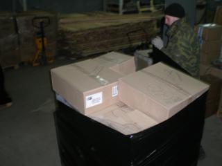 Доставка из Москвы и Санкт-Петербурга в Часовенная сборных грузов