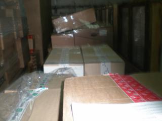 Доставка из Москвы и Санкт-Петербурга сборных грузов